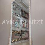 Sinyora Model Beyaz Altın Renk Boy Aynası-2