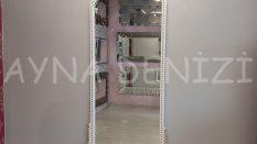 Sinyora Model Beyaz Altın Renk Boy Aynası