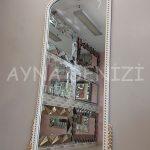 Sinyora Model Beyaz Altın Renk Boy Aynası-5
