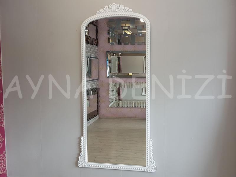 Sinyora Model Beyaz Renk Boy Aynası-1