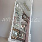 Sinyora Model Beyaz Renk Boy Aynası-10