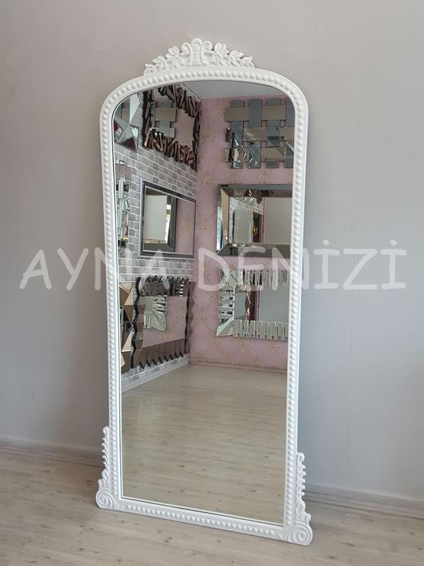 Sinyora Model Beyaz Renk Boy Aynası-11