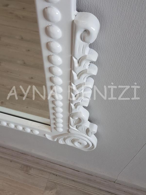 Sinyora Model Beyaz Renk Boy Aynası-14