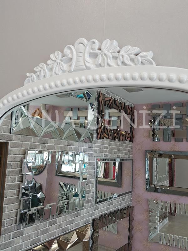 Sinyora Model Beyaz Renk Boy Aynası-16