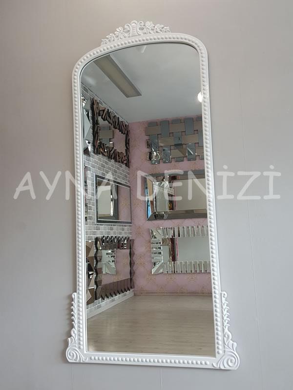 Sinyora Model Beyaz Renk Boy Aynası-3