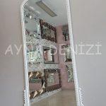 Sinyora Model Beyaz Renk Boy Aynası-6