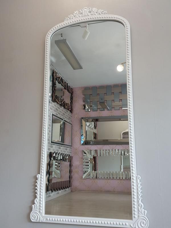 Sinyora Model Beyaz Renk Boy Aynası-7