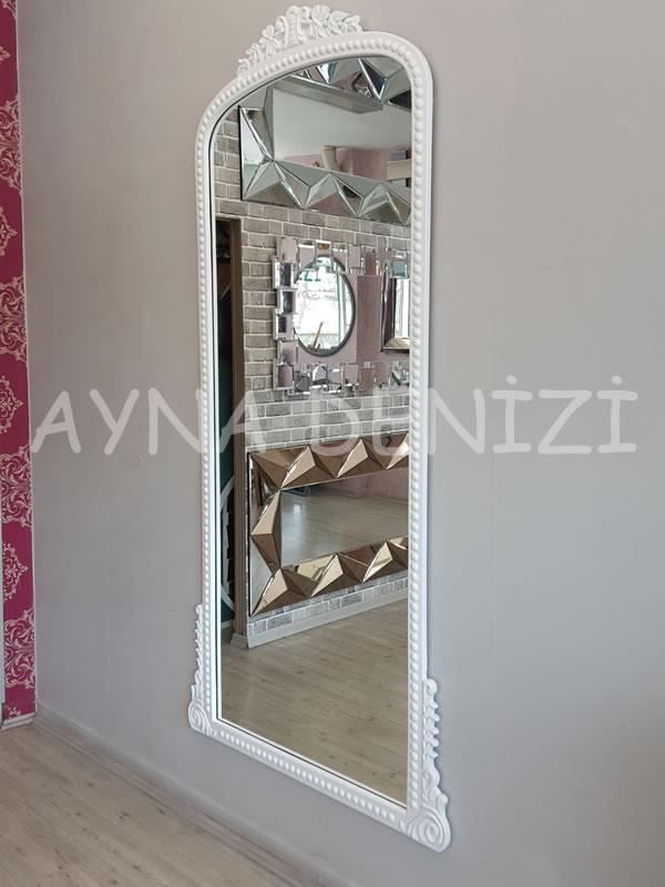Sinyora Model Beyaz Renk Boy Aynası-8