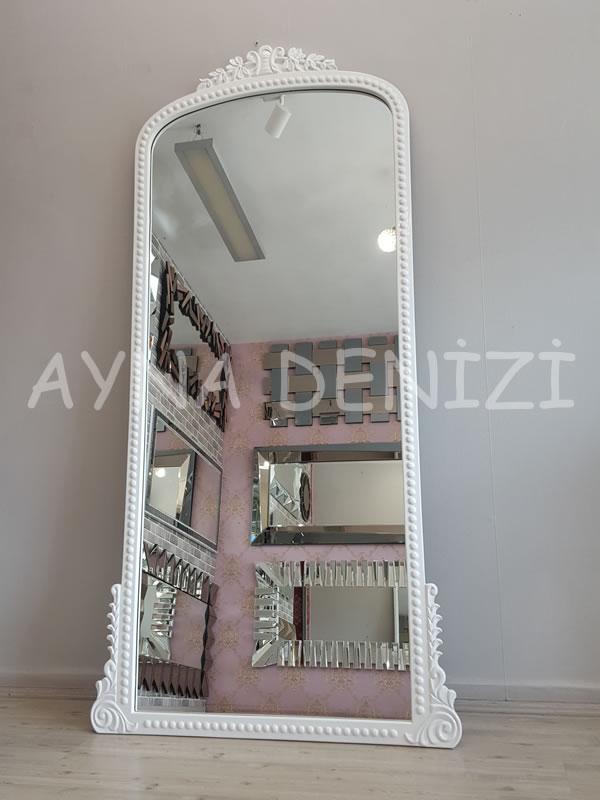 Sinyora Model Beyaz Renk Boy Aynası-9