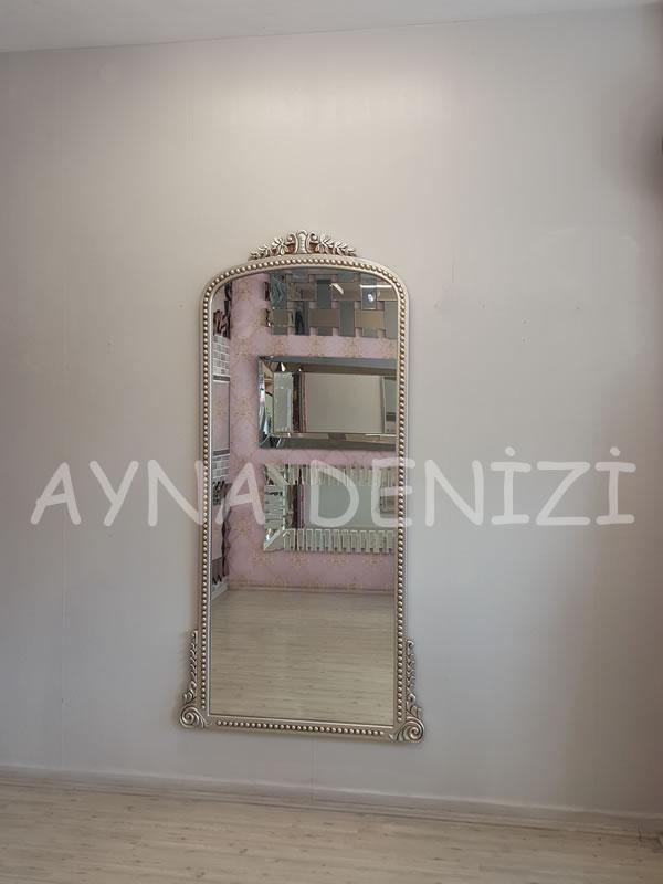 Sinyora Model Gümüş Renk Boy Aynası-12