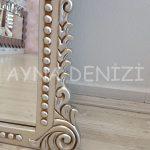 Sinyora Model Gümüş Renk Boy Aynası-17