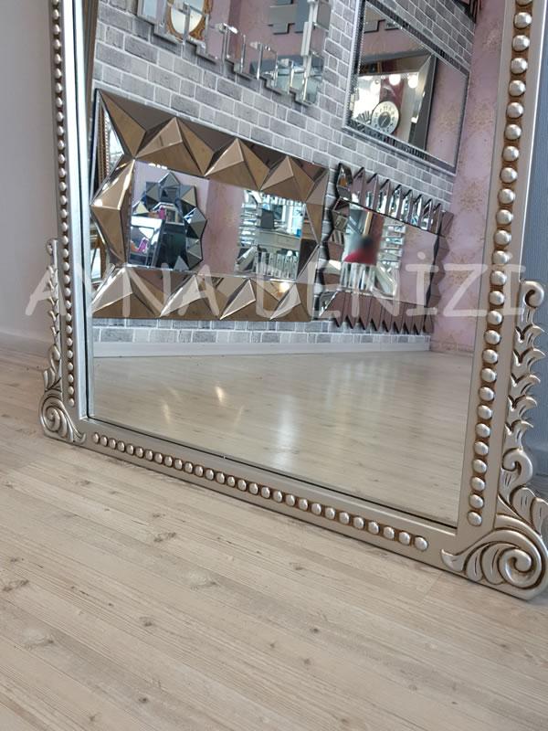 Sinyora Model Gümüş Renk Boy Aynası-18