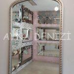 Sinyora Model Gümüş Renk Boy Aynası-19