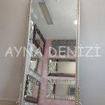 Sinyora Model Gümüş Renk Boy Aynası-2