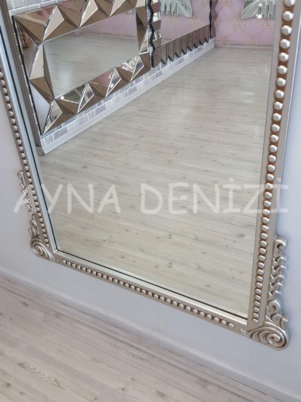 Sinyora Model Gümüş Renk Boy Aynası-21