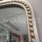 Sinyora Model Gümüş Renk Boy Aynası-24