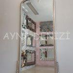 Sinyora Model Gümüş Renk Boy Aynası-7