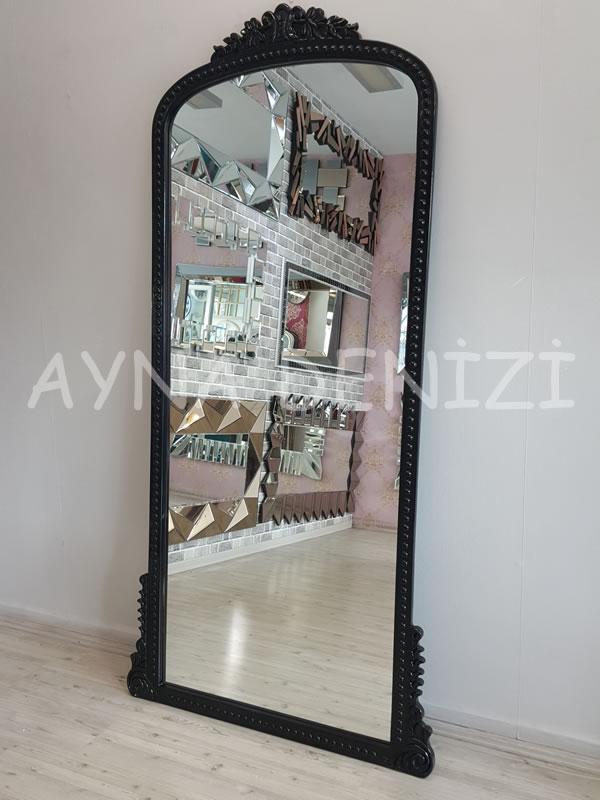 Sinyora Model Siyah Renk Boy Aynası-10