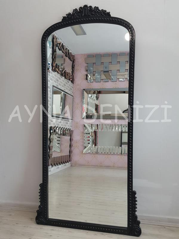 Sinyora Model Siyah Renk Boy Aynası-15