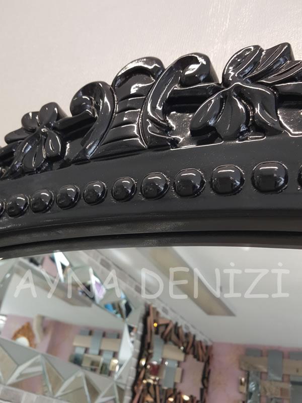 Sinyora Model Siyah Renk Boy Aynası-22