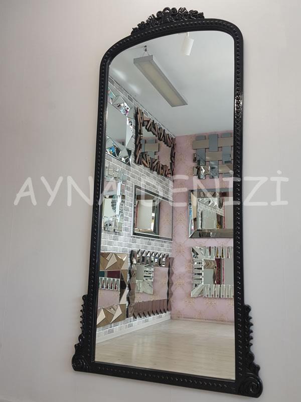 Sinyora Model Siyah Renk Boy Aynası-4