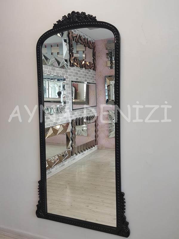 Sinyora Model Siyah Renk Boy Aynası-5