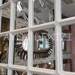Ancona Model Beyaz Renk Dekoratif Pencere Ayna-22