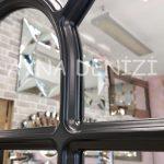 Ancona Model Siyah Renk Dekoratif Pencere Ayna-19