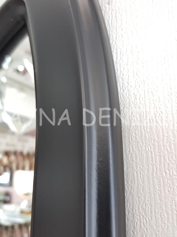 Messina Model Siyah Renk Dekoratif Pencere Ayna-21