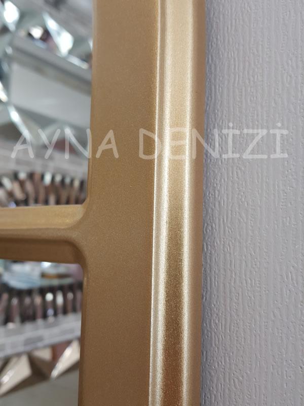 Parma Model Altın Renk Dekoratif Pencere Ayna-20