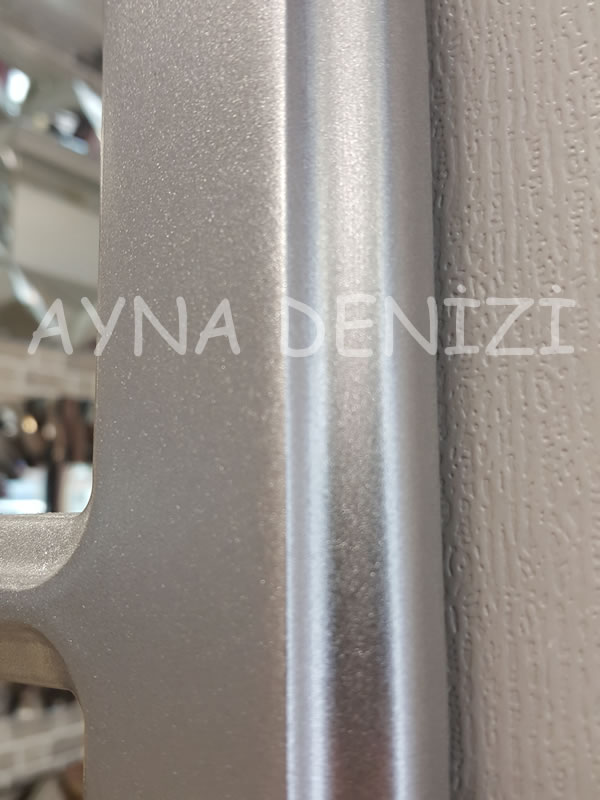 Parma Model Gümüş Renk Dekoratif Pencere Ayna-23