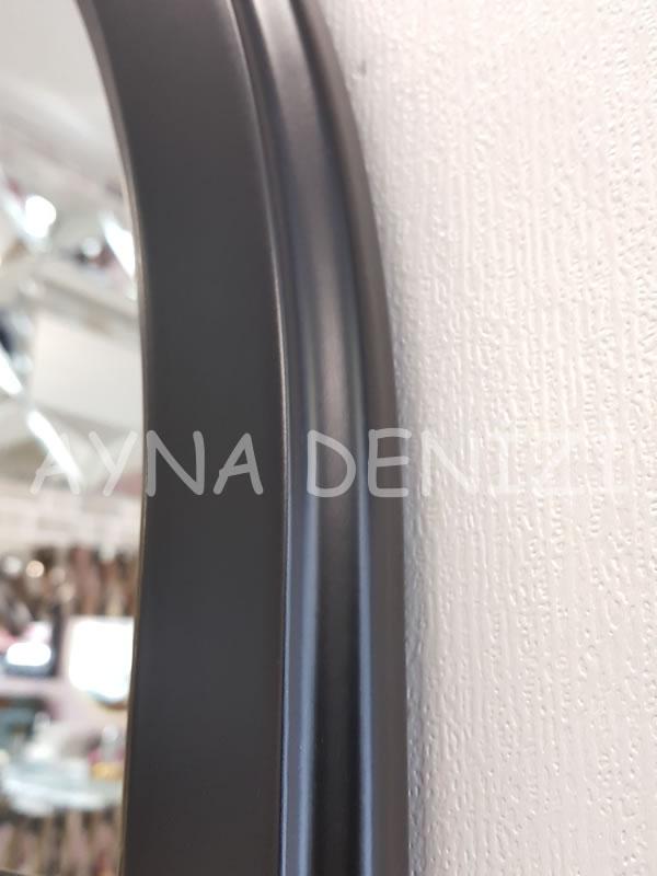 Parma Model Siyah Renk Dekoratif Pencere Ayna-22