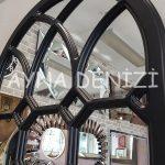 Rennes Model Siyah Renk Dekoratif Pencere Ayna-14