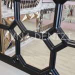 Rennes Model Siyah Renk Dekoratif Pencere Ayna-18