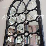 Rennes Model Siyah Renk Dekoratif Pencere Ayna-9