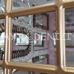 Savona Model Altın Renk Dekoratif Pencere Ayna-21