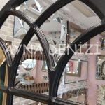 Savona Model Siyah Renk Dekoratif Pencere Ayna-19