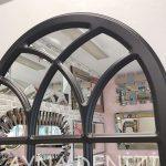 Savona Model Siyah Renk Dekoratif Pencere Ayna-23